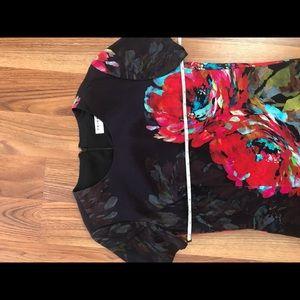 Trina Turk Dresses - Trina Turk Bengaline Floral Shift Dress